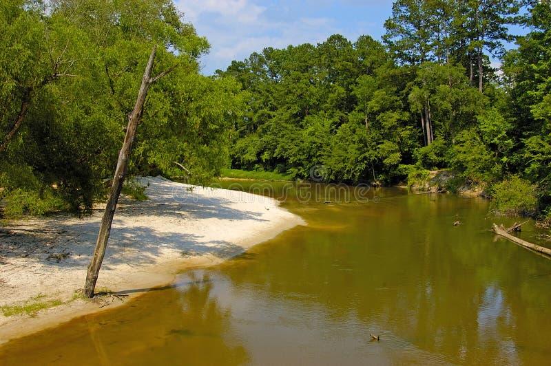 samotna rzeki zdjęcie stock