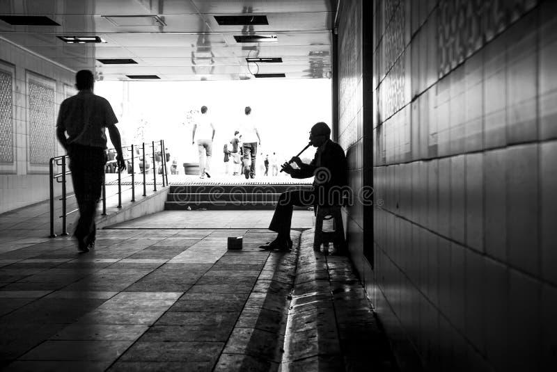 Samotność w dużym mieście zdjęcia royalty free