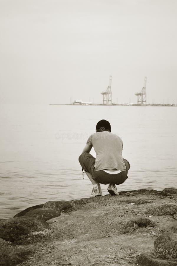 Download Samotny obraz stock. Obraz złożonej z osoba, końcówka - 2860433