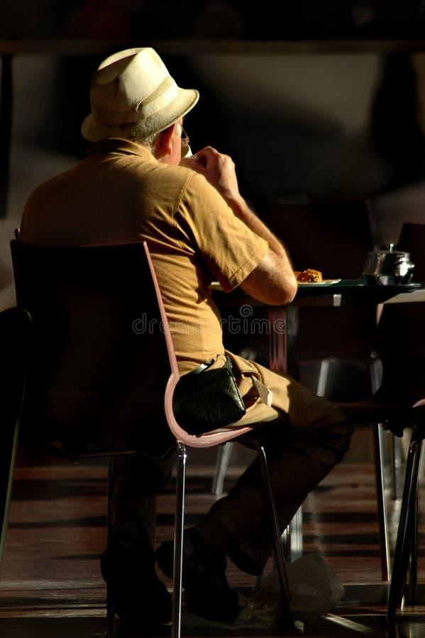 samotny człowiek starszy obrazy royalty free