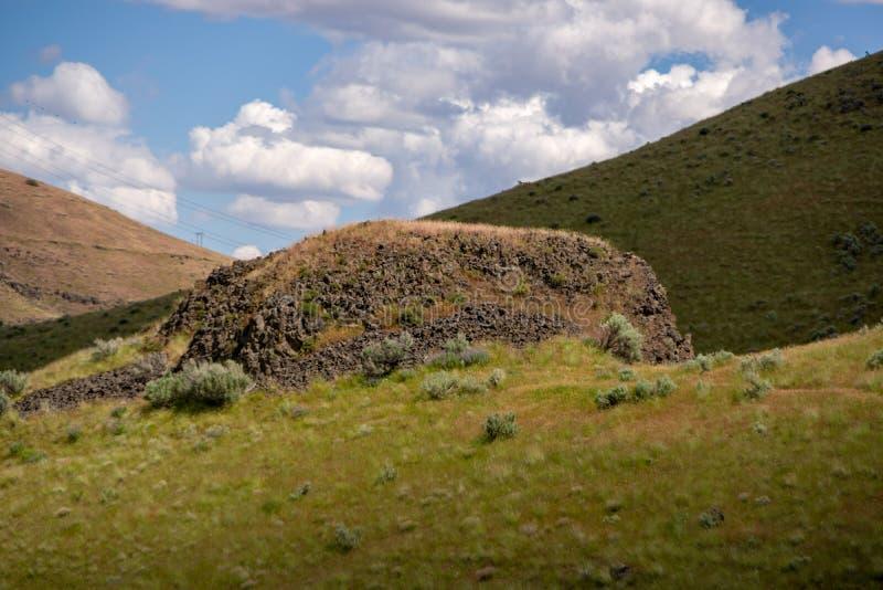 samotny kamień obrazy stock
