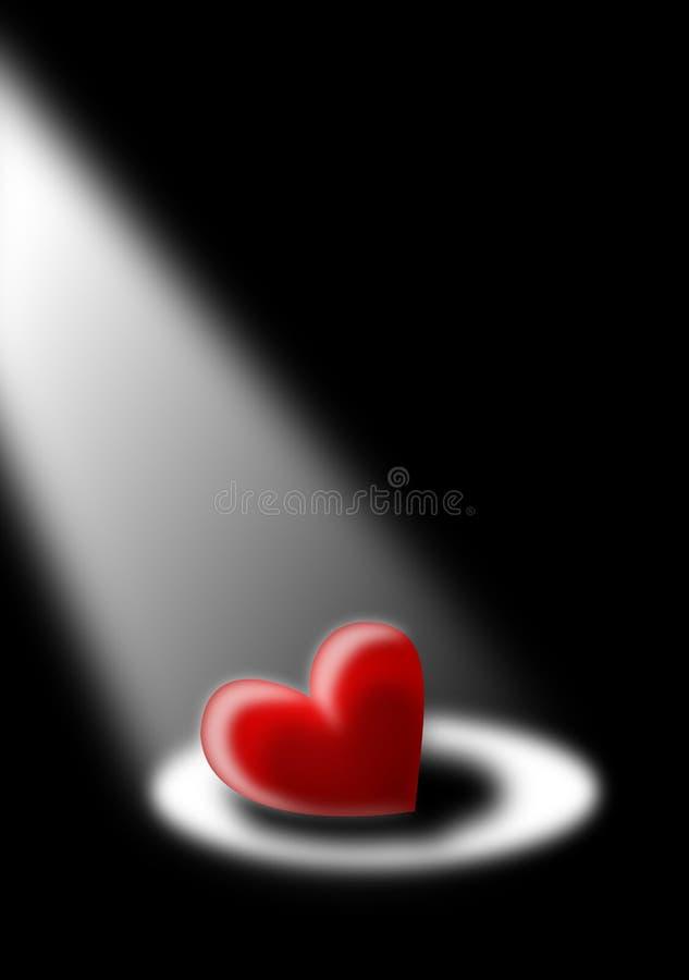 samotny serce obrazy stock