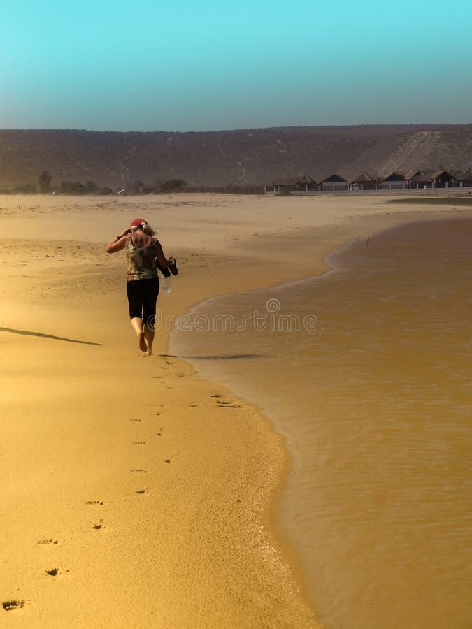 samotny spacer fotografia stock