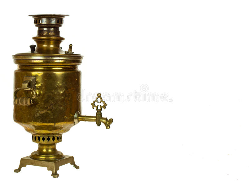 Samovar russe antique photos stock