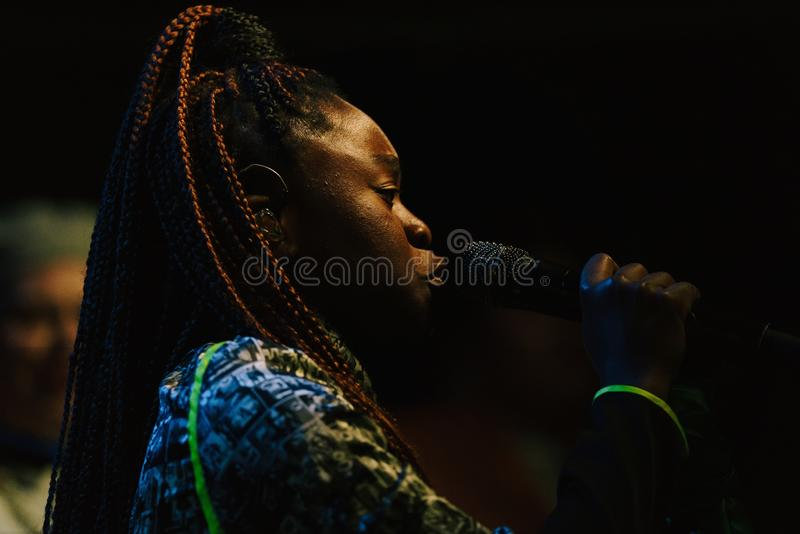 Sampa the Great Live stock photo