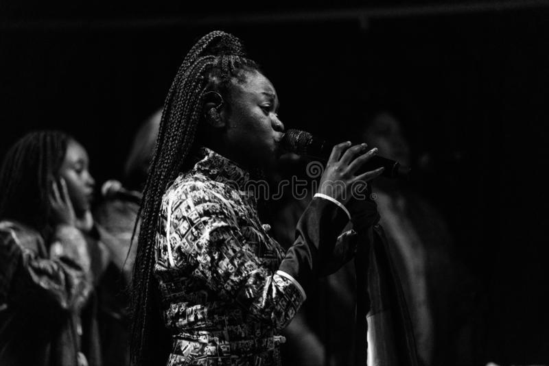 Sampa the Great Live royalty free stock image