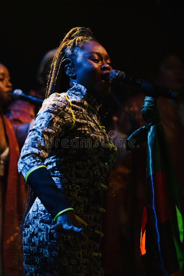 Sampa the Great Live royalty free stock photography
