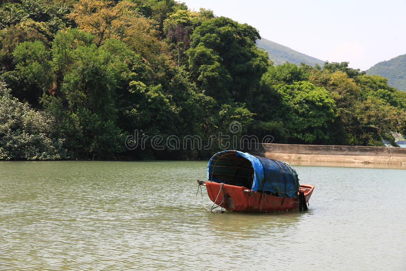sampan στοκ φωτογραφίες με δικαίωμα ελεύθερης χρήσης