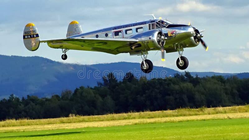 Sample aircraft airshow. royalty free stock photography