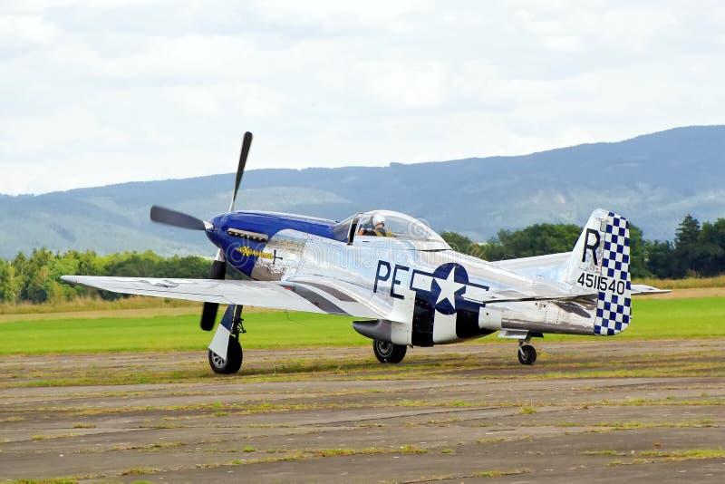 Sample aircraft airshow. royalty free stock photos