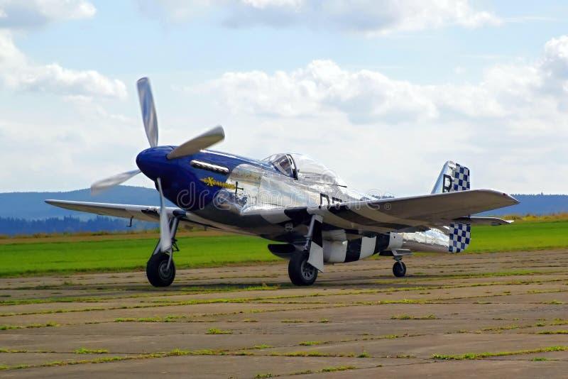 Sample aircraft airshow. stock photo
