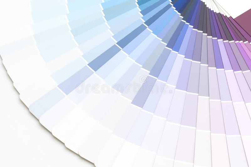 sample colors catalogue pantone stock photo
