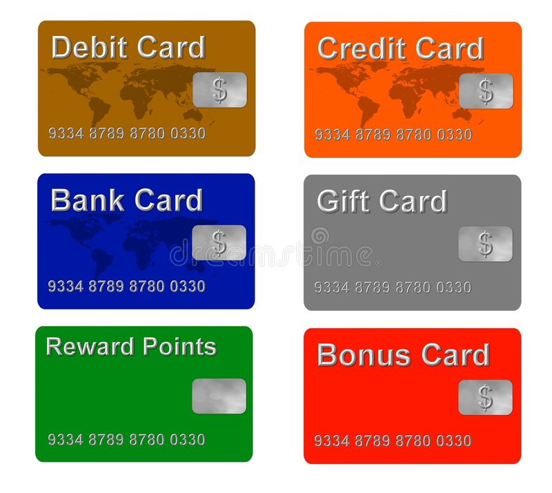 sample credit cards