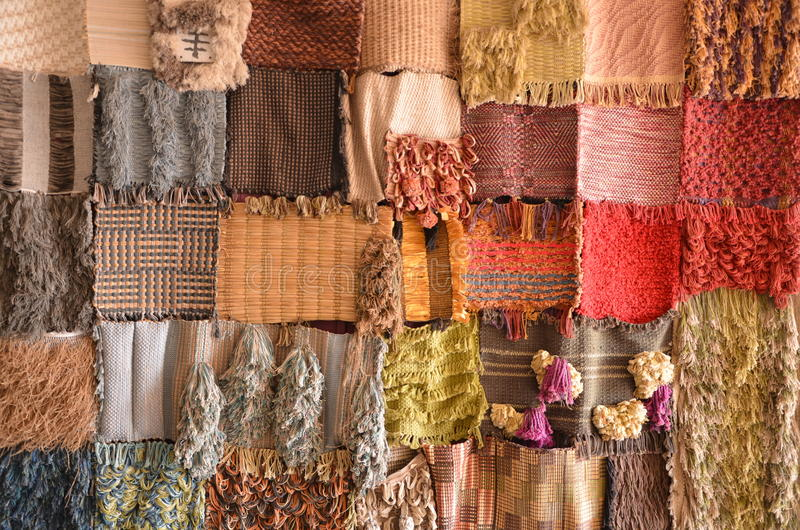 Sample Fabric royalty free stock photos