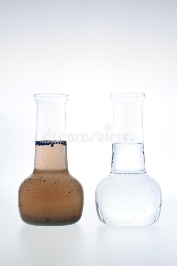 Free Sample Of Clean And Dirty Water Stock Images - 19253394