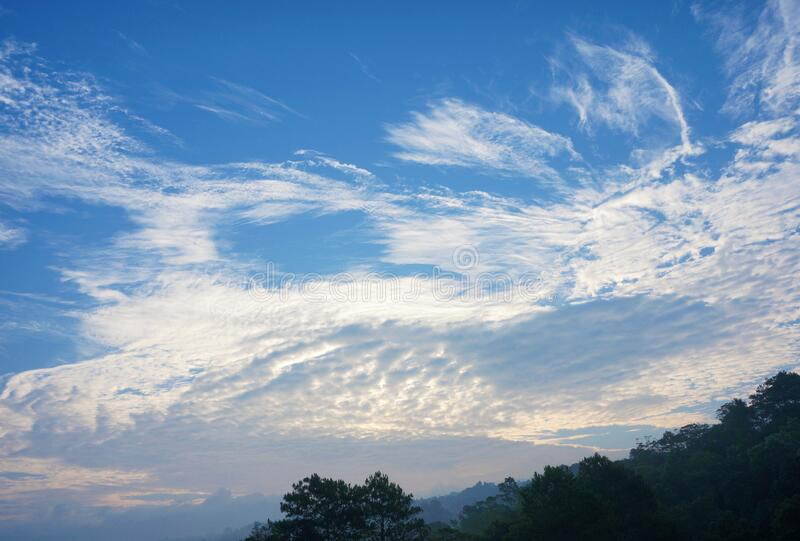 A Sample of Stratus Clouds. That can be used as reference for weather related topic stock photography