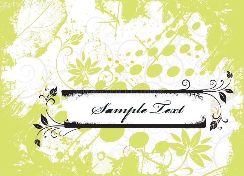 Sample text royalty free illustration