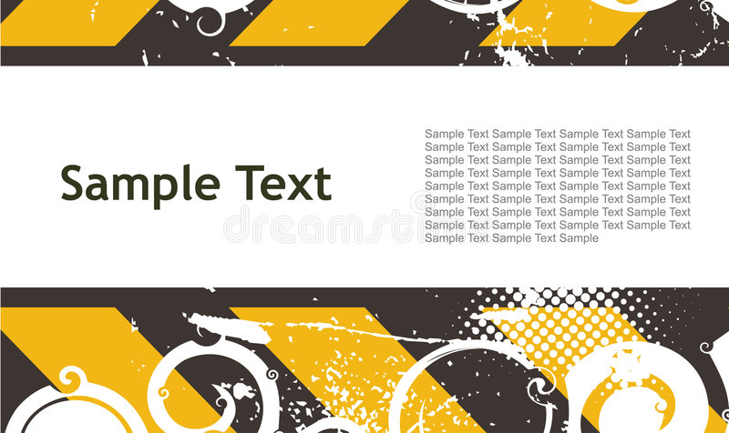 Download Sample text background stock vector. Image of lined, digital - 8826540