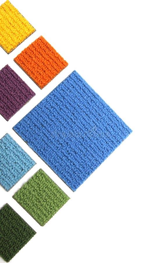 Samples of carpet stock photo