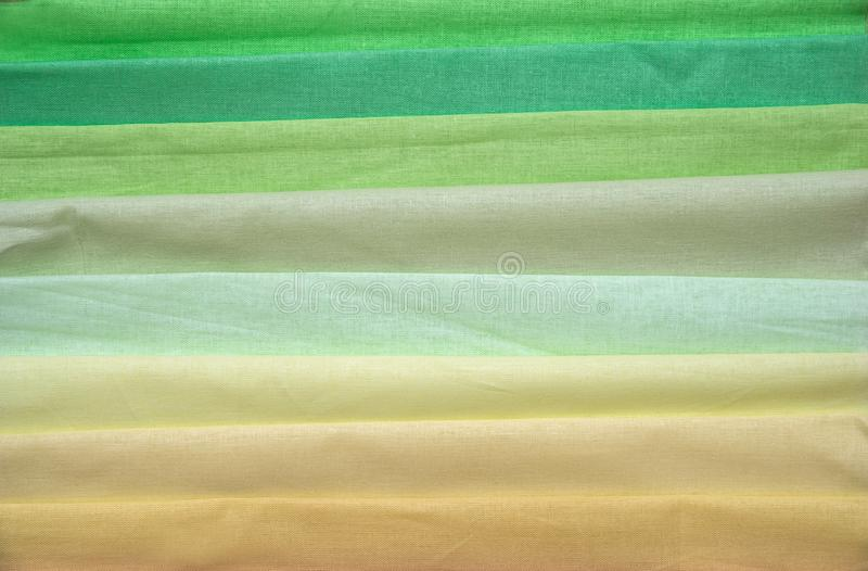 Samples of colorful fabric royalty free stock images