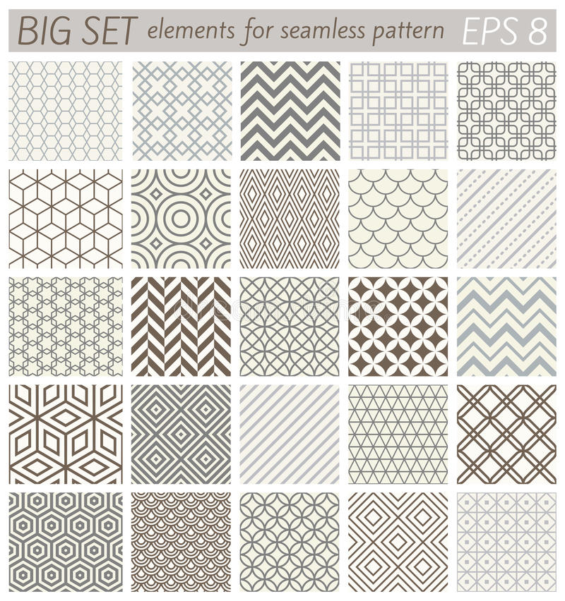Free Samples Geometric Vector Patterns Stock Photography - 64334812