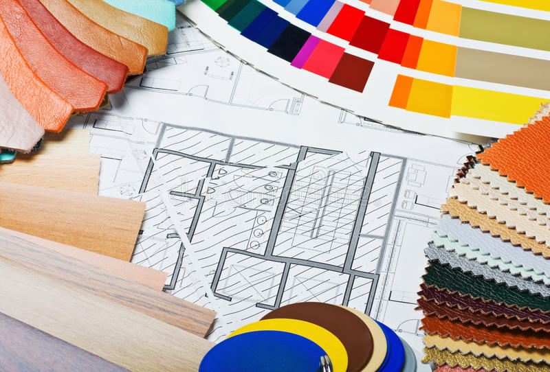 Download Samples Of Materials Colors, Upholstery And Cover Royalty Free Stock Photos - Image: 26388698