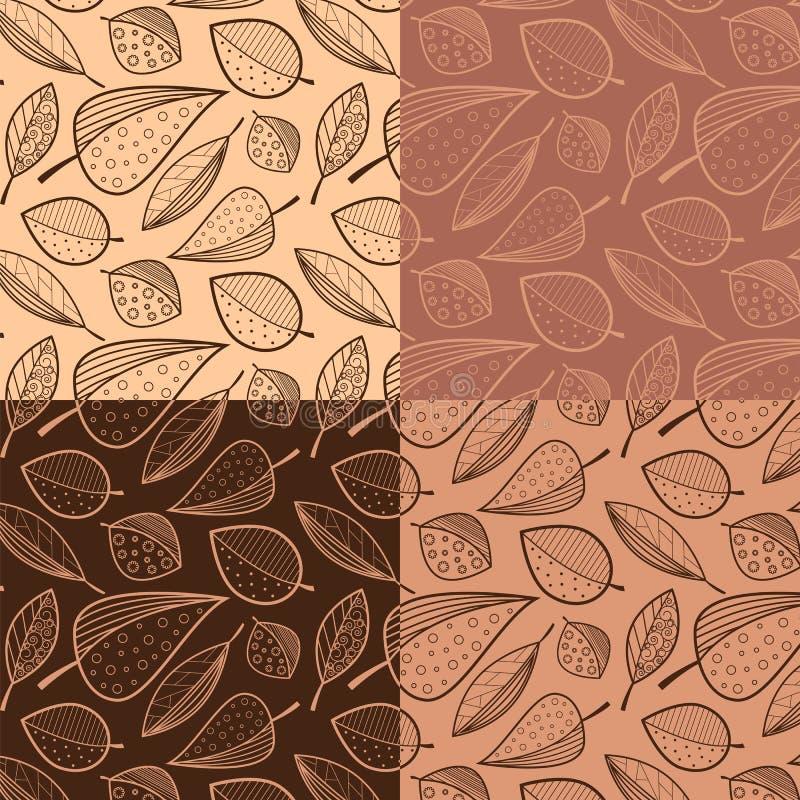 Samples patterns vector illustration