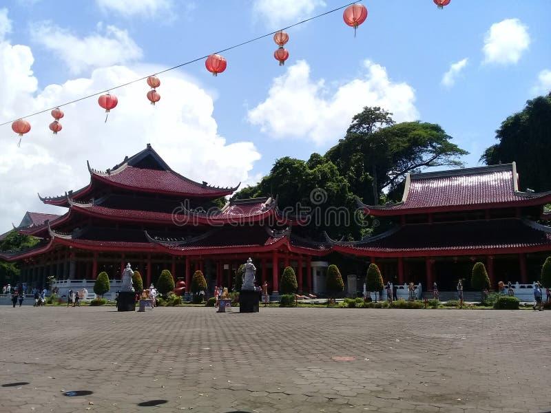 Sampokong, Semarang Jawa Tengah,印度尼西亚 免版税库存图片