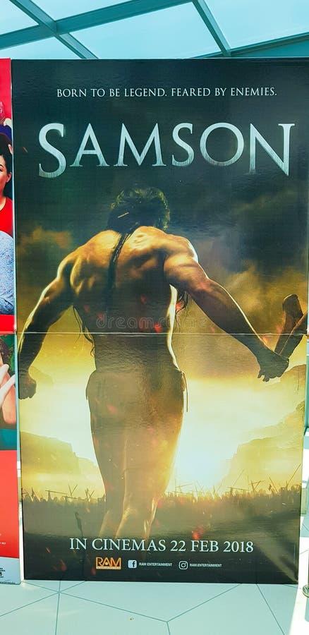 Samson Movie Poster royalty-vrije stock fotografie