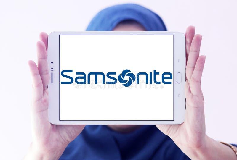 Samsonite bagażu wytwórcy logo zdjęcie royalty free