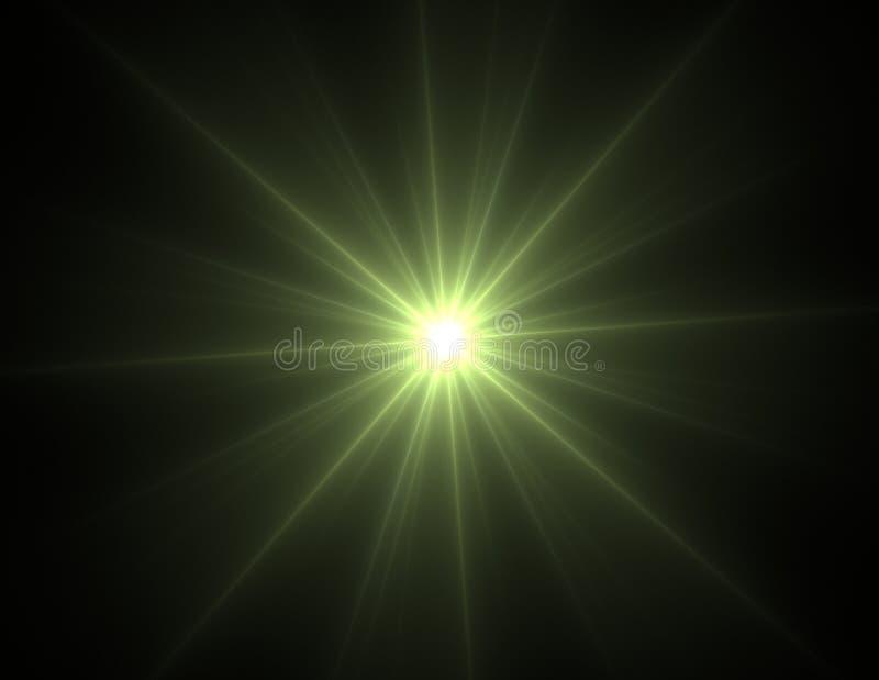 Samspel av den abstrakta fractalen bildar på ämnet av kärn- fysik, vetenskap och den grafiska designen Samspel av den abstrakta f royaltyfri illustrationer