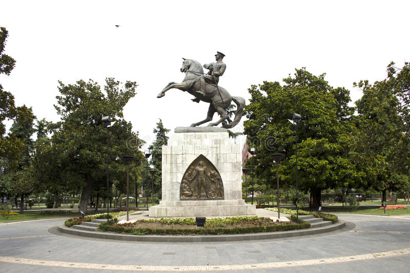 Samsun Mustafa Kemal Ataturk statua obrazy stock