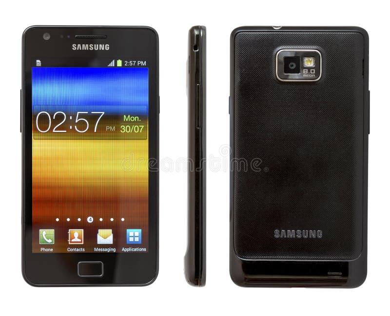 Samsung星系SII 免版税库存照片