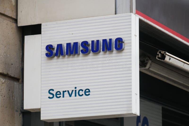 Samsung-de dienstcentrum royalty-vrije stock afbeelding