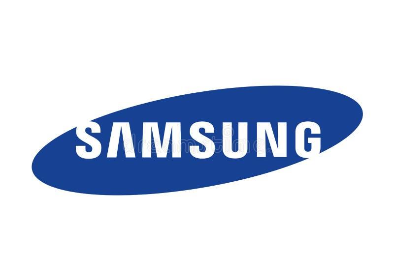 Samsung-embleem royalty-vrije illustratie