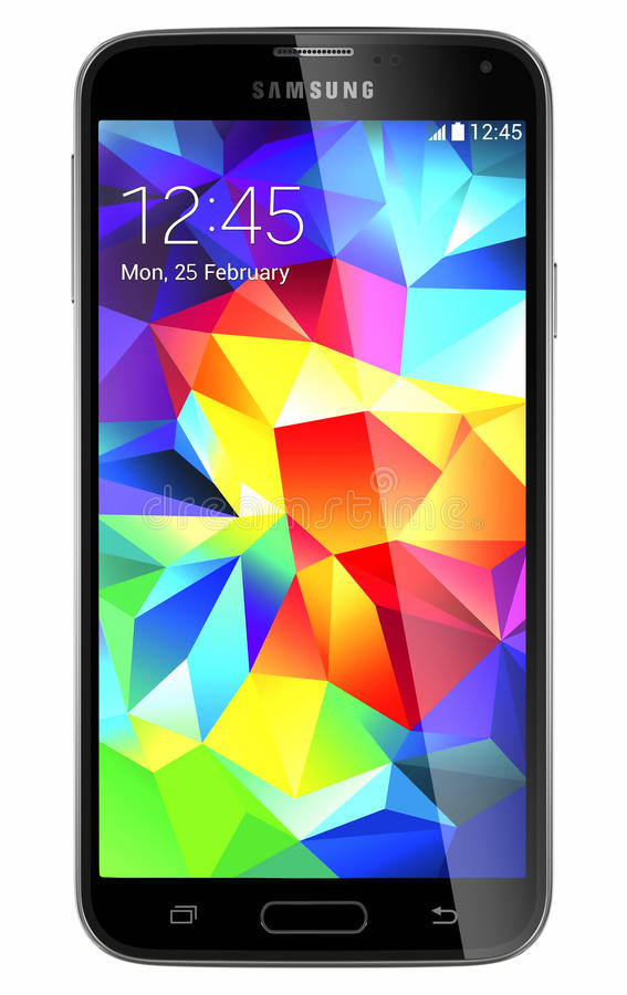 Samsung galaktyka S5 ilustracja wektor