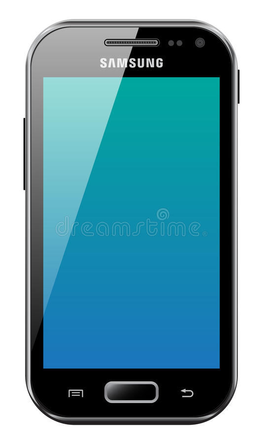 Samsung Galaxy Ace 2 stock illustration