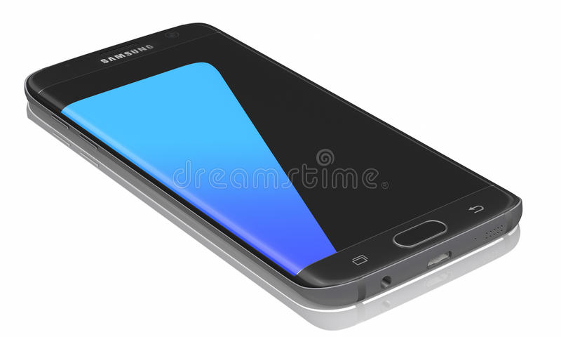 Samsung Galaxy S6 And Galaxy S6 Edge Editorial Stock Image - Image