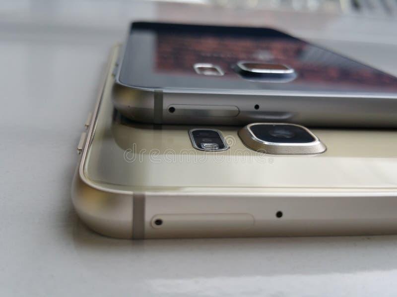 Samsung galaxy s7 flat royalty free stock photo