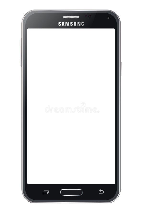Samsung galaxy s5 stock illustration