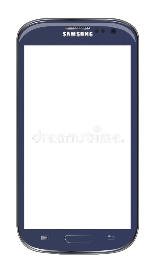 Samsung galaxy s3 stock illustration