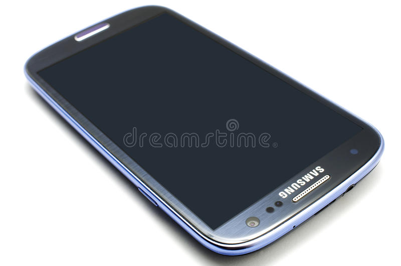 Samsung Galaxy S3 royalty free stock image