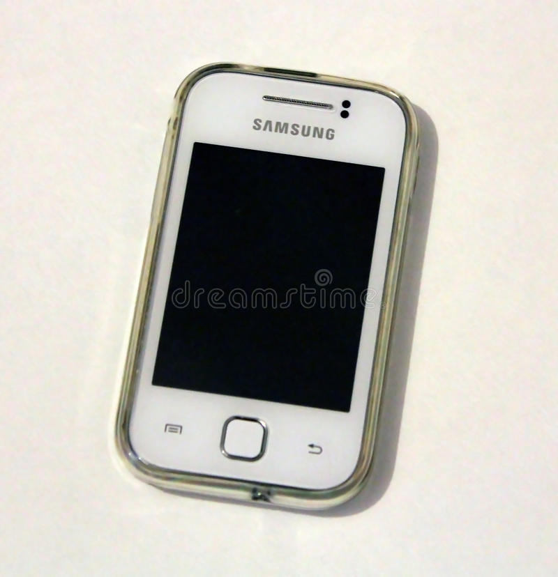 Samsung Galaxy Young royalty free stock photo