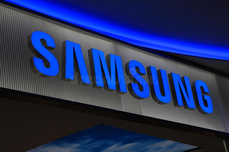 Samsung koreanelektronik arkivbild