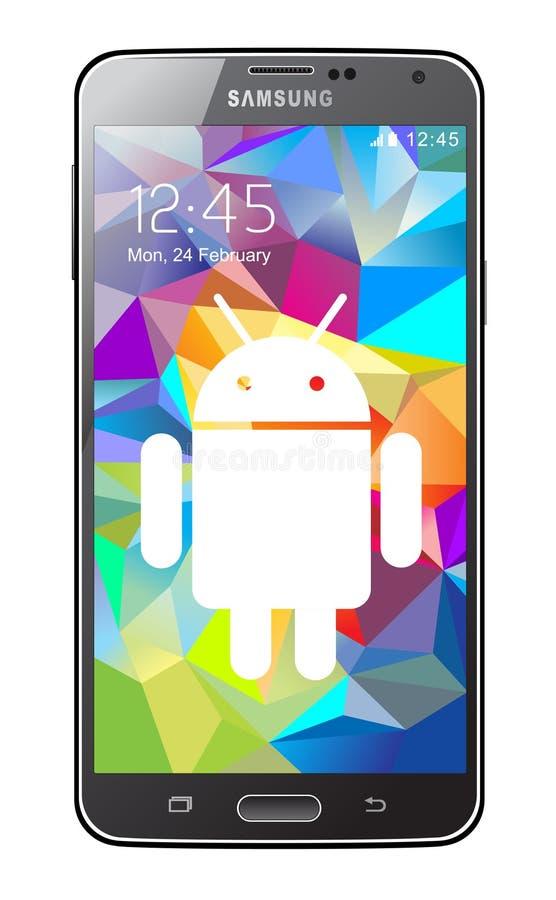 Samsung-Melkweg stock illustratie