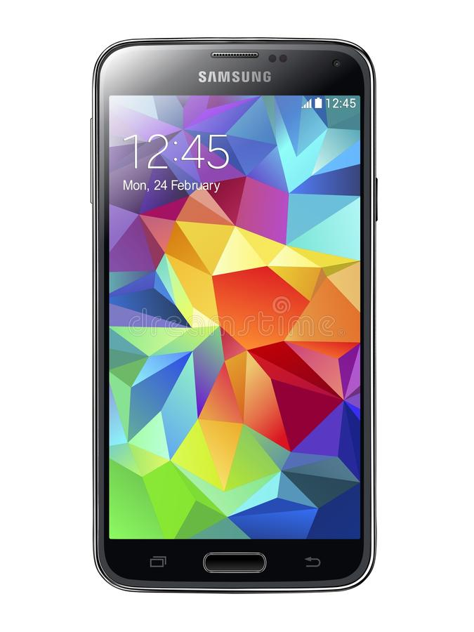 Samsung-Melkweg S5 stock illustratie