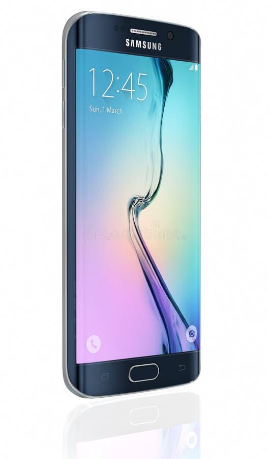 Samsung-Melkwegs6 Rand - Zwarte Saffier royalty-vrije illustratie