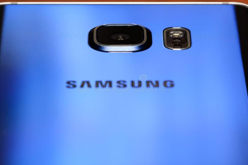 Samsung-Nota 5 royalty-vrije stock afbeelding