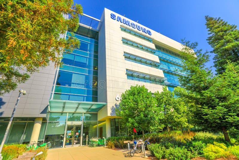 Samsung ricerca l'America fotografie stock