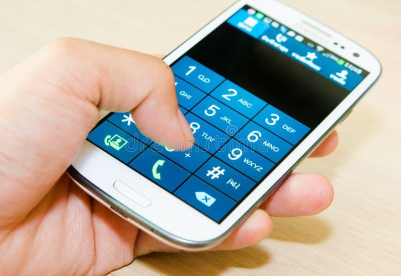 Samsung s3 fotografía de archivo libre de regalías